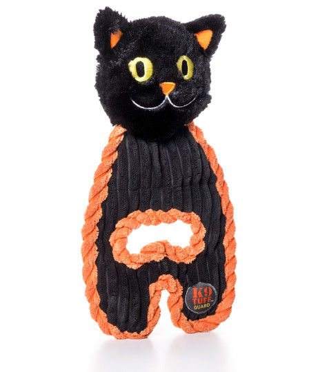 Cuddle Hugs Halloween Cat Dog Toy, Black