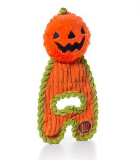 Cuddle Hugs Halloween Pumpkin Dog Toy, Orange