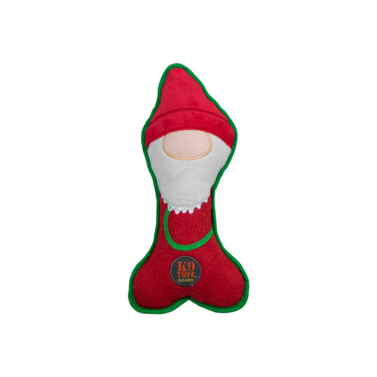 Lil' Racquets Holiday Gnome Dog Toy, Blue, Medium