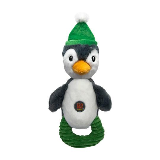Flyer Pals Holiday Penguin Dog Toy, Multi, Medium