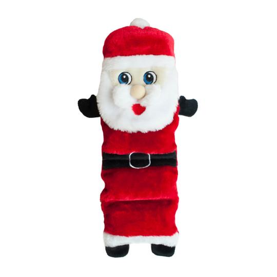 Invincibles Santa Holiday Dog Toy, Red, Medium