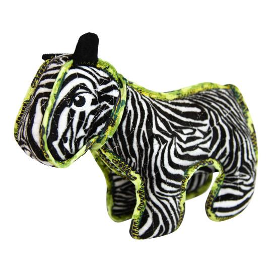 Xtreme Seamz Zebra Dog Toy, Multi, Medium