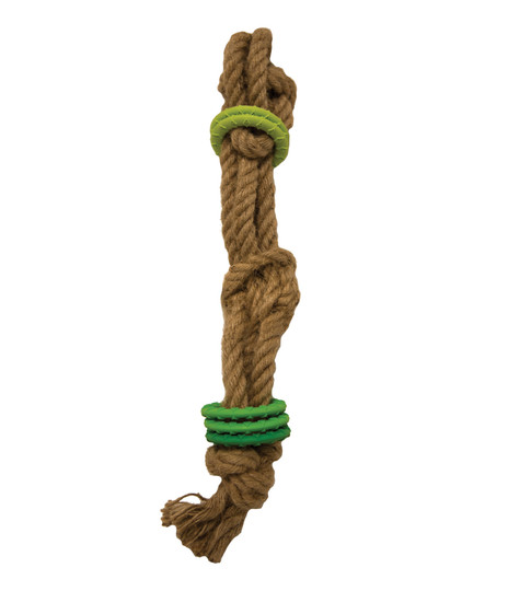 Naturals Jute Puzzle Rope Dog Toy, Green