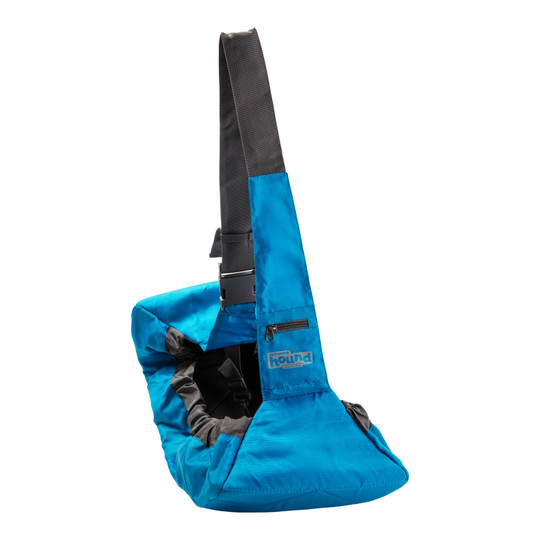 PoochPouch Sling Style Dog Carrier, Blue