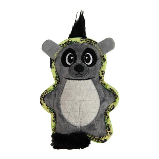 Xtreme Seamz Lemur Dog Toy, Grey, Small