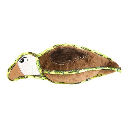 Xtreme Seamz Vulture Dog Toy, Brown, Medium