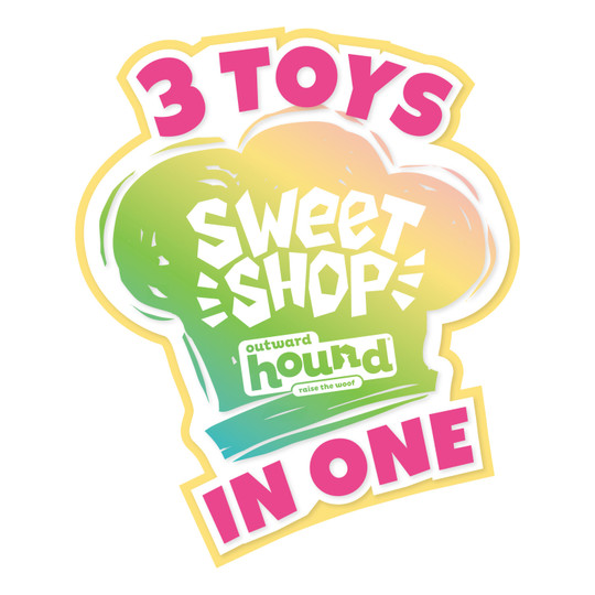 Surprise Destroy Them All Sweet Shop Dog Toy, Assorted, Small