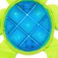 Bubble Palz Plush Turtle Dog Toy, Green, Small