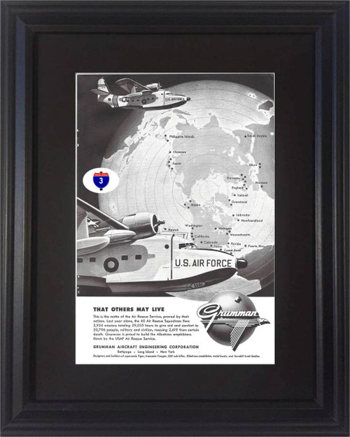 1957 57 Grumman Aircraft Vintage Ad - U.S. Air Force USAF Engineering That Others May Live  Air, plane, planes, airplane, airplanes, flight, flights, line, lines, airline, airlines, liner, liners, airliner, airliners, craft, crafts, aircraft, aircrafts, jet, jets, jetliner, jetliners, aeroplane, aeroplanes, company, companies, antique, old, USAF