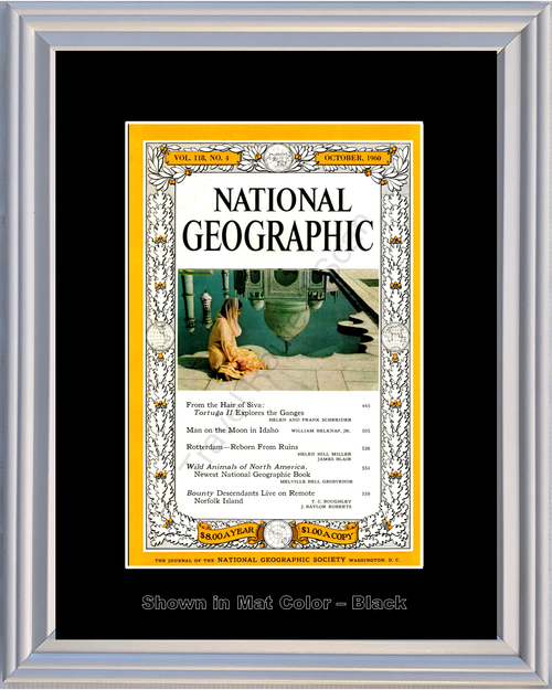 1960 60 October National Geographic Cover Vol 118 - No 4
