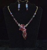 Dicro Glass Necklace Set