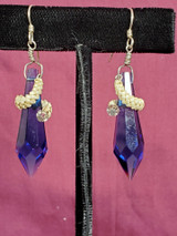 Beargrass Wrapped Crystal Earrings
