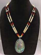 Large Bone Strand Necklace