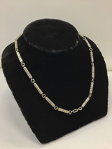 16 Piece Silver Necklace