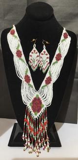 White, Red, & Green Split Loom Set