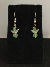 Green Angel Earring