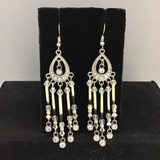 Crystal Quill Earrings