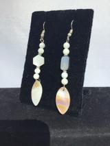 Mother-of-Pearl Drop Earrings