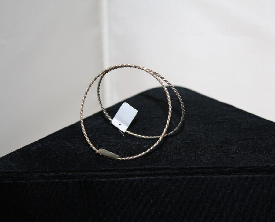 Twisted Rope Bangle Bracelet