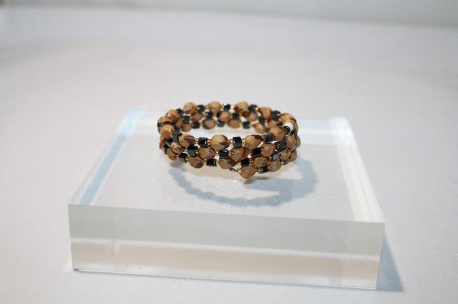 Memory Wire Cedar Berry Bracelets