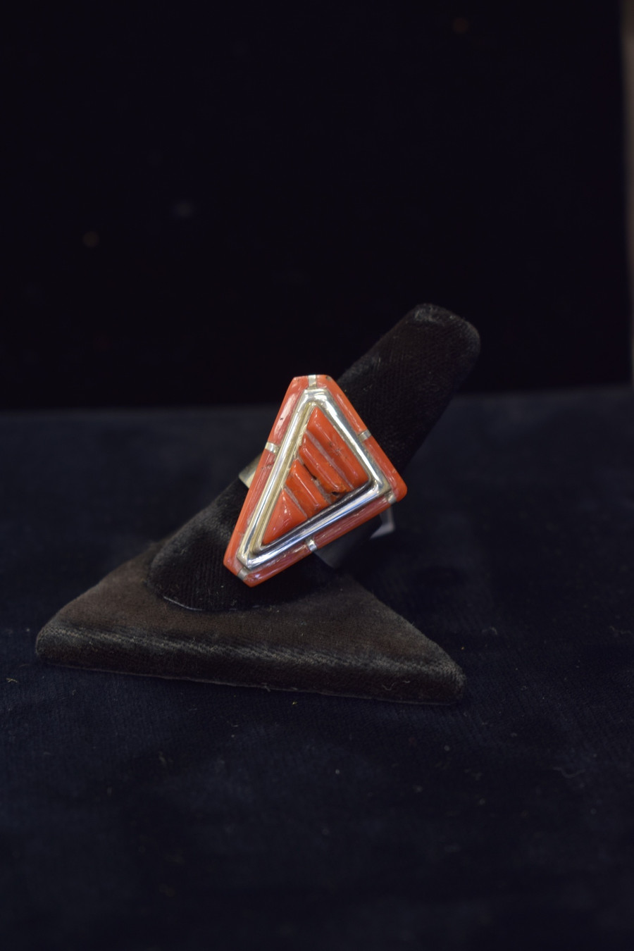 Contemporary Coral Ring