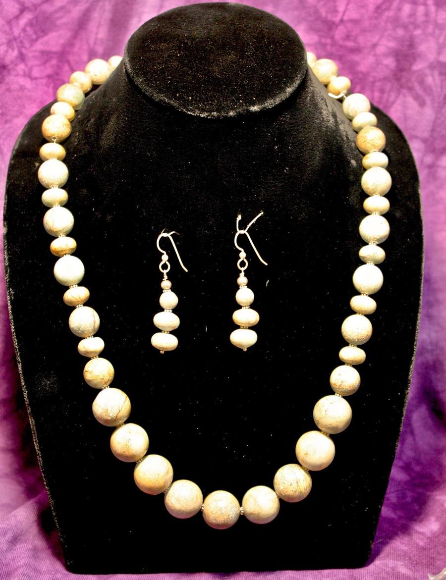 Boulder Turquoise Necklace Set