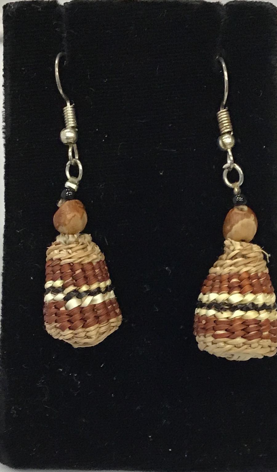 Medicine Basket Earrings