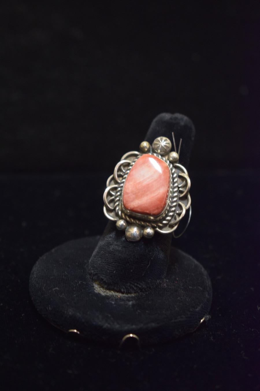 Spiny Oyster Ring Handmade by Mary Tso