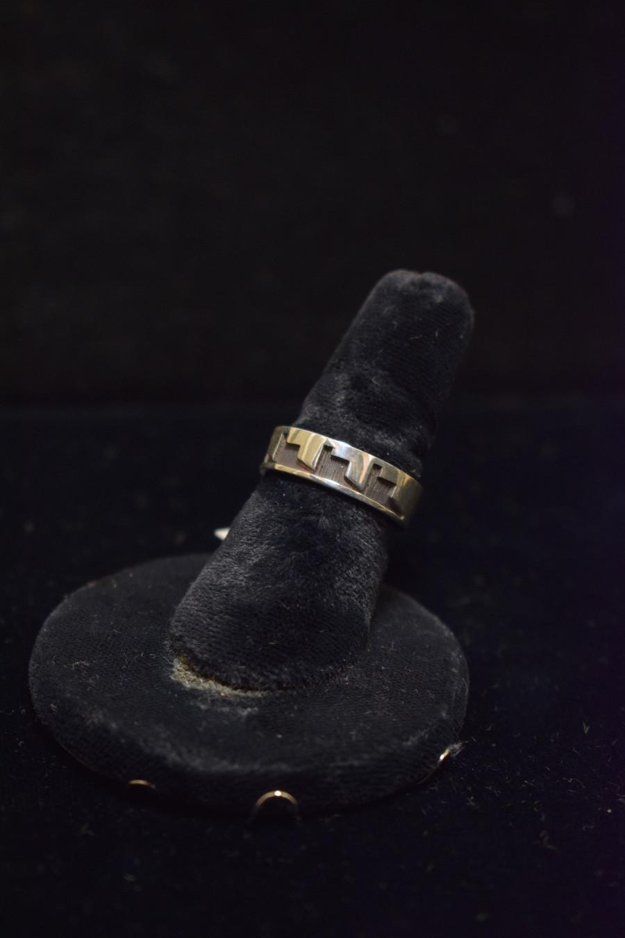 Silver Hopi Cloud Ring