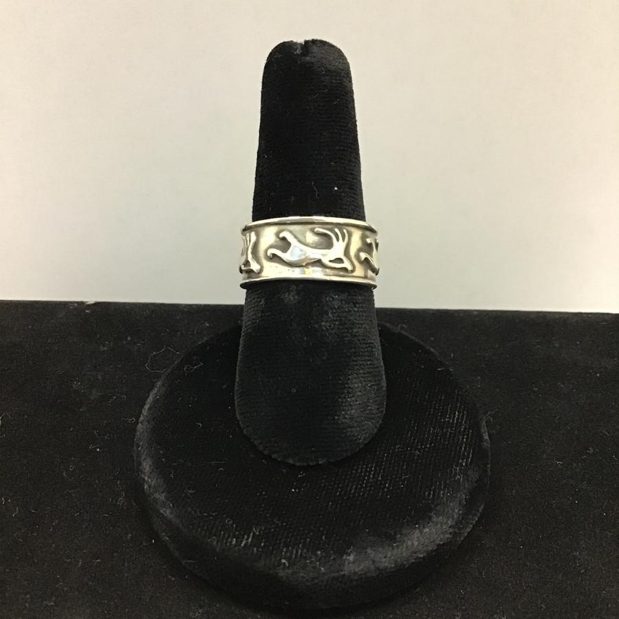 Silver Kokopelli Ring