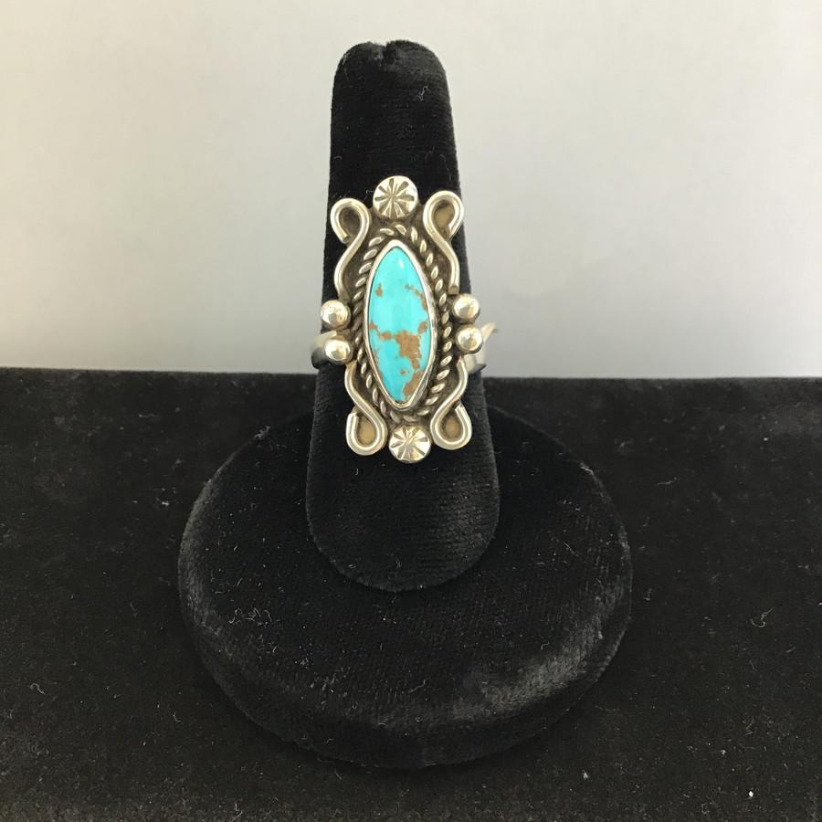 Kingman Turquoise Rings
