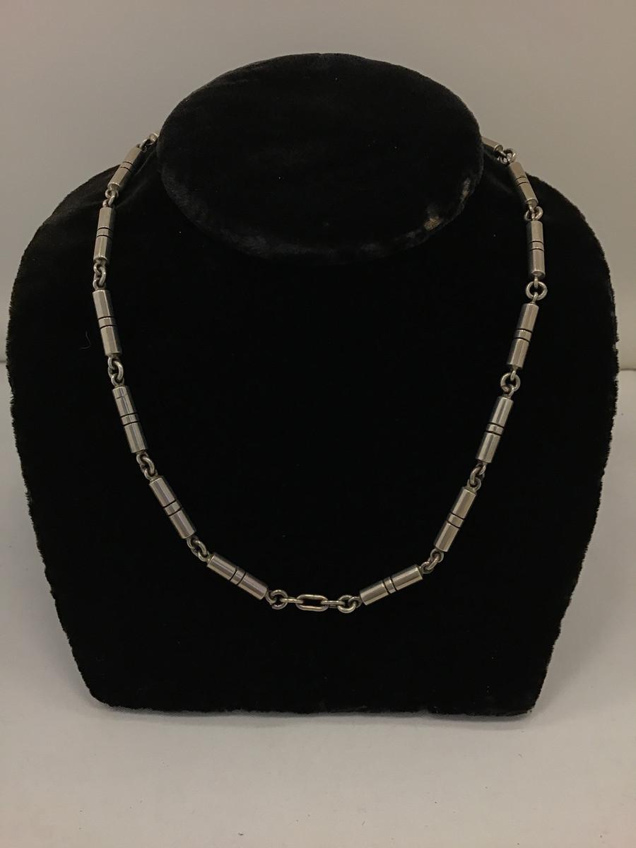 16 Piece Silver Necklace