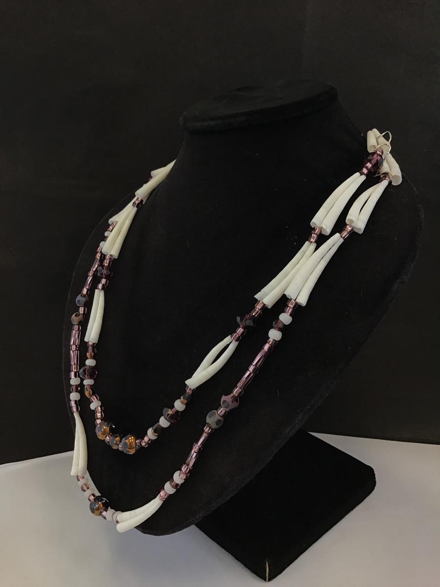 Double Strand Dentalium Necklaces