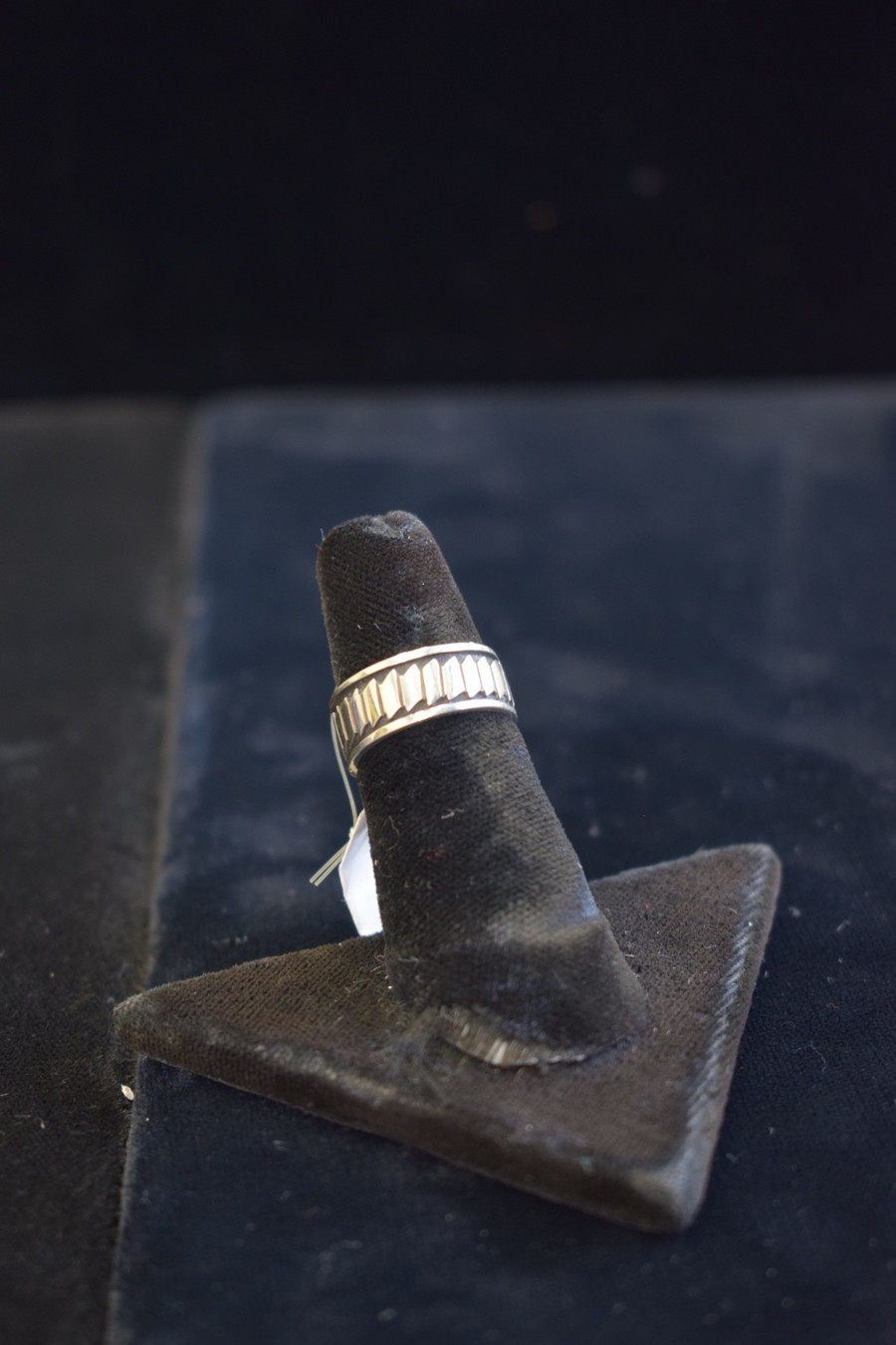 Silver Hopi Contemporary Design Ring
