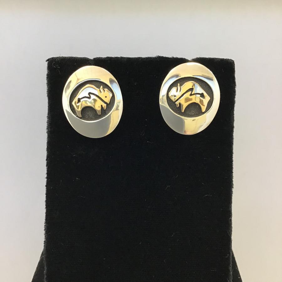 Buffalo Shadowbox Earrings