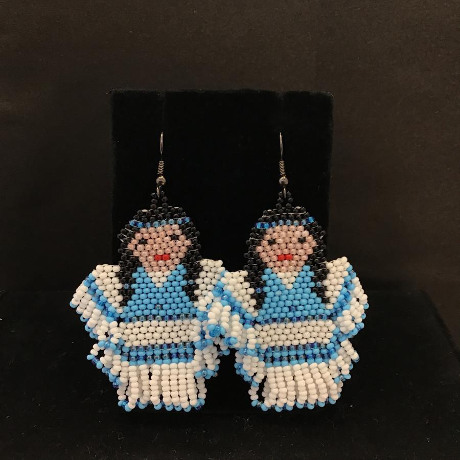 Beaded Doll Earrings