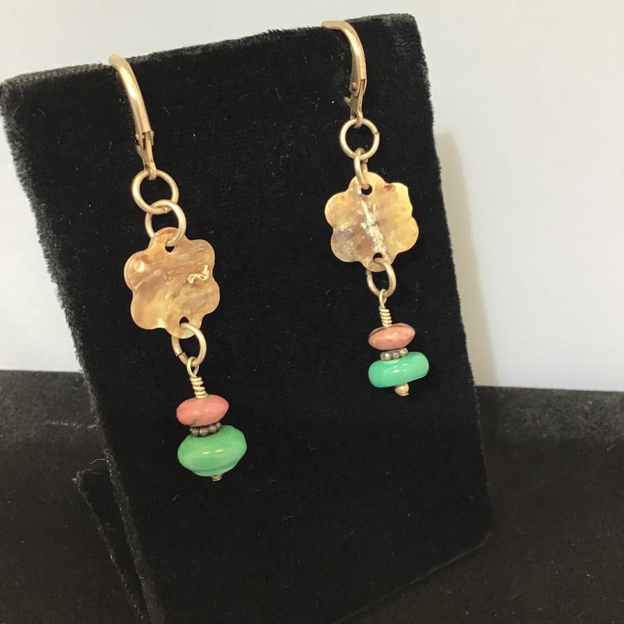 Stone & Shell Earrings