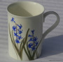 These slender coffee mugs remind you of the perfect breakfast coffee or tea with fresh fruit you enjoyed on your last vacation. Roman hyacinth design.