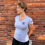 Firefighter Functional Fitness (Women's) V-Neck Tee