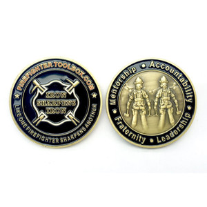 Iron Sharpens Iron Challenge Coin