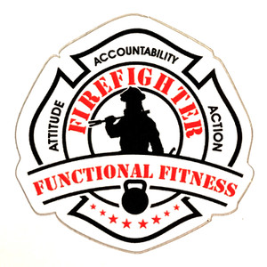 Firefighter Functional Fitness Stickers