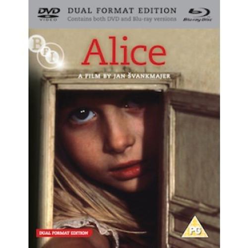 Alice (Svankmajer region 2/B DVD/Blu-ray combo)