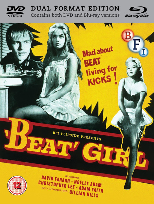 Beat Girl (region B/2 blu-ray/DVD combo)