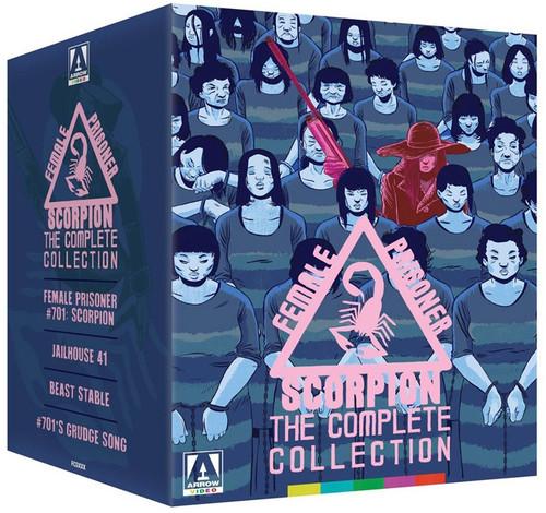 Female Prisoner Scorpion: The Complete Collection (blu-ray/DVD box set)