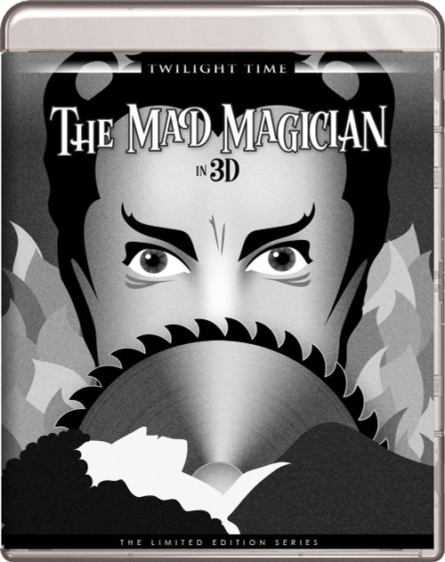 The Mad Magician in 3D (region-free blu-ray)