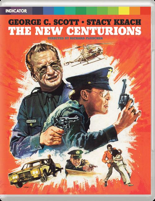 The New Centurions (region-free blu-ray/DVD)