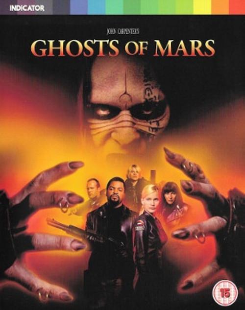 Ghosts of Mars (region-free blu-ray/DVD combo)