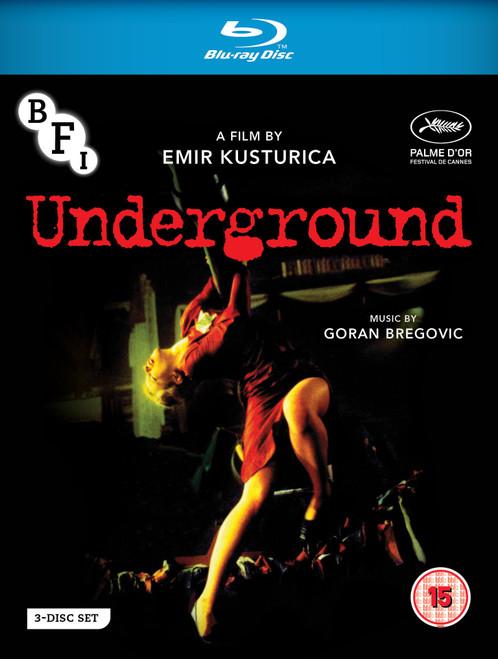 Underground (region B/2 blu-ray/DVD)