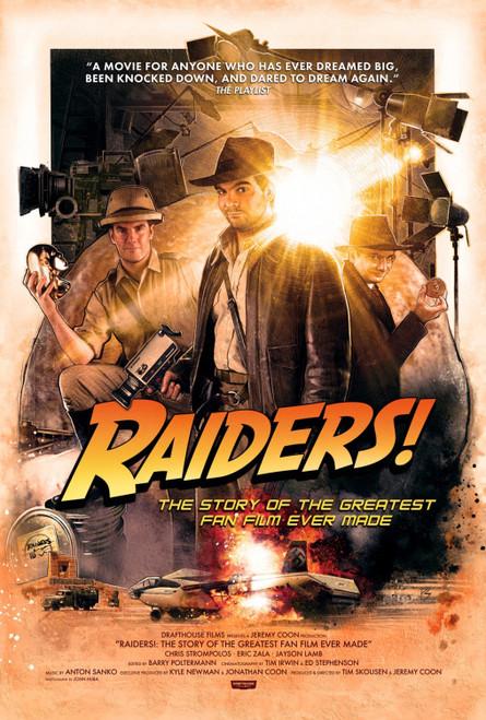 Raiders! (region-free blu-ray/DVD)