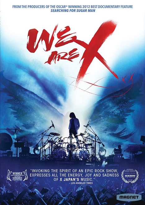 We Are X (region-1 DVD)
